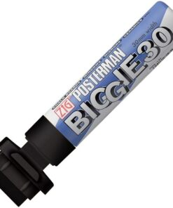 Marker ZIG Posterman 30mm sort