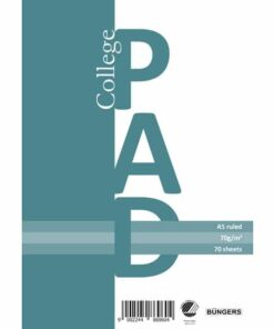 college pad A5 70g/70 sheets ruled (3)
