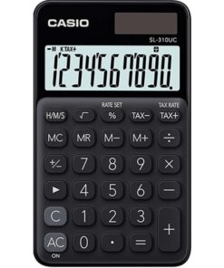 Casio calculator SL-310UC black