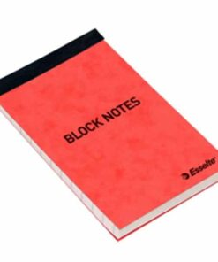 Notesblok 105x65mm linieret 50 ark