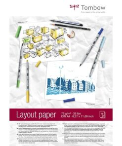 Layout blok Tombow A4 75g 75ark