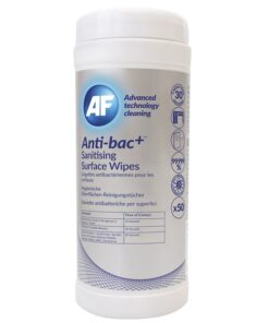 Anti-bac+ Sanitising Surface Cleaning Wipes (70%)