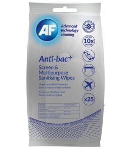 Anti-bac+ Sanitising Screen & Multipurpose Wipes
