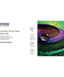 24'' Production Photo Paper Glossy 200g 30m