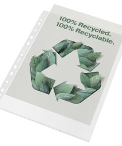 Lomme recycled 100my PP præg A4 maxi (50)