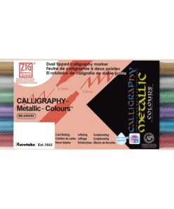 ZIG Calligraphy Metallic 6-set
