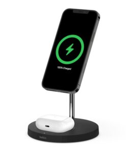 BOOST CHARGE PRO MagSafe 2-in-1 Wireless Charger Stand