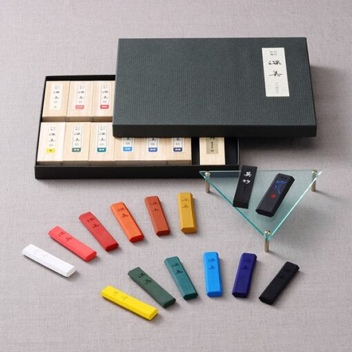 Saiboku Shimbi 14 Ink stick set